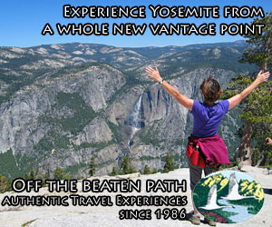 Off the Beaten Path - Yosemite adventures - From the historic and elegant Ahwahnee Hotel to the most knowledgeable and experienced guides, Off the Beaten Path will show you a fine time in and around Yosemite. Experience spectacular waterfalls, fern-covered trails, clear streams and solitude-filled hikes.