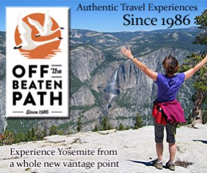 Off the Beaten Path - Yosemite adventures : From the historic and elegant Ahwahnee Hotel to the most knowledgeable and experienced guides, Off the Beaten Path will show you a fine time in and around Yosemite. Experience spectacular waterfalls, fern-covered trails, clear streams and solitude-filled hikes.