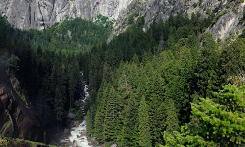Merced River Gorge in Yosemite
