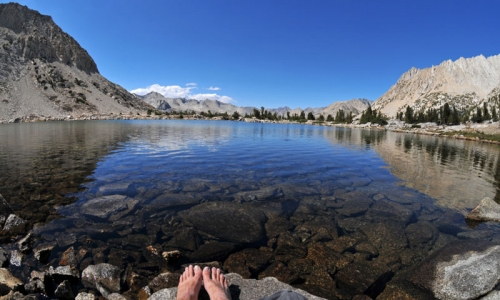 Lake Marjorie Pacific Crest Trail