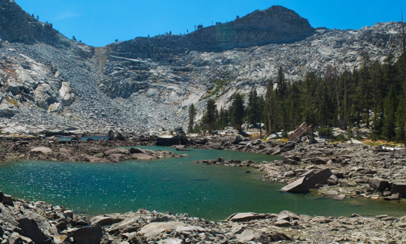 Eagle Lake in Sierra National Forest