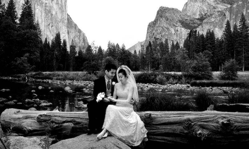Yosemite National Park California Wedding