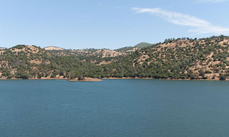 New Melones Lake in Central California