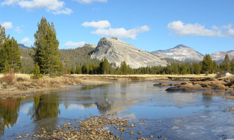 Tuolumne River in Yosemite National Park