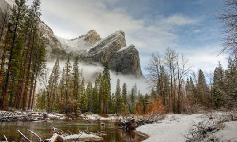 Yosemite Mountain Ranges