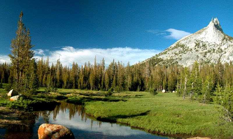 Cathedral Peak in Yosemite National Park