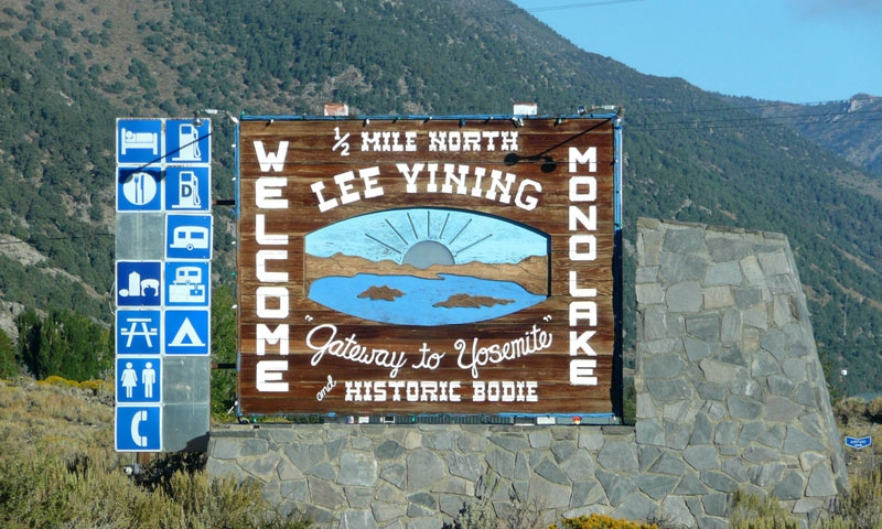 Lee Vining California