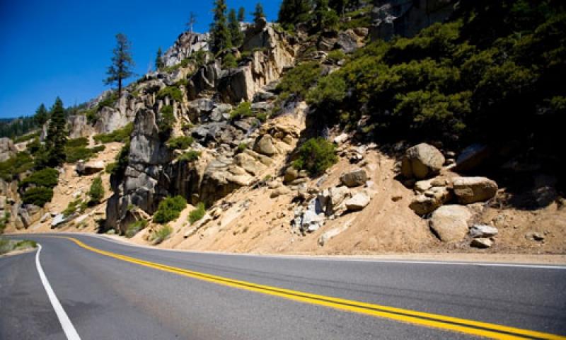 The Scenic Sonora Pass in California