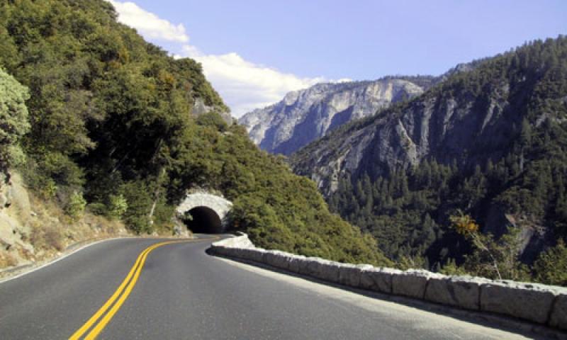 Tunnel View in Yosemite