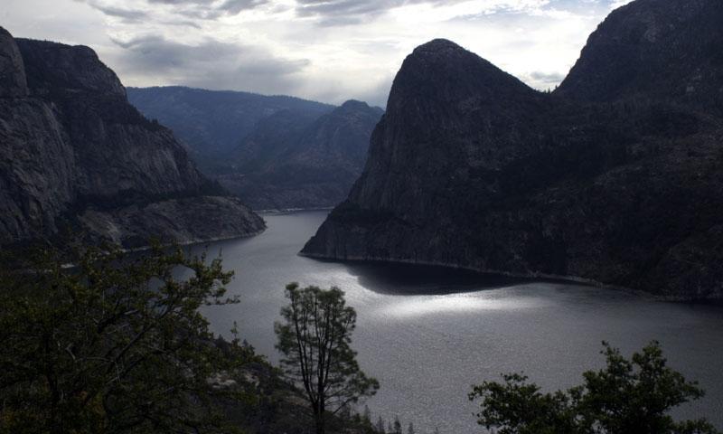Hetch Hetchy Reservoir near Yosemite