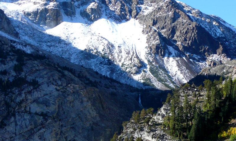 Tioga Pass in Yosemite National Park