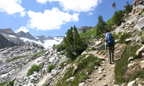 Hiking the John Muir Trail in California