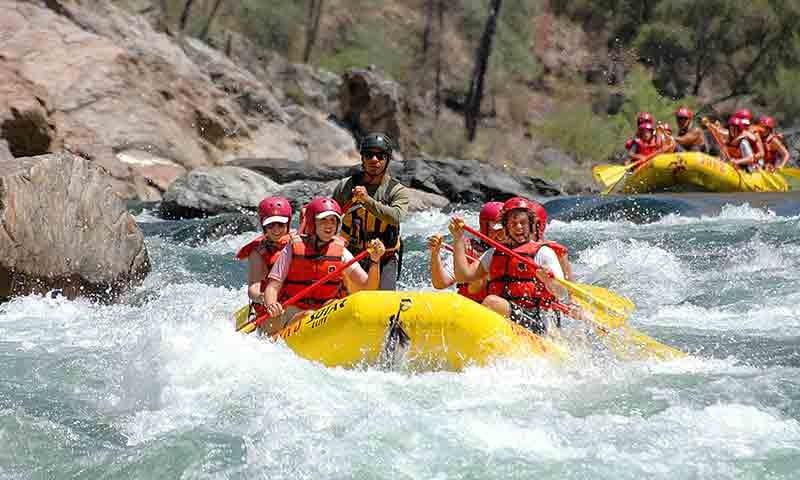 Whitewater Rafting near Yosemite National Park