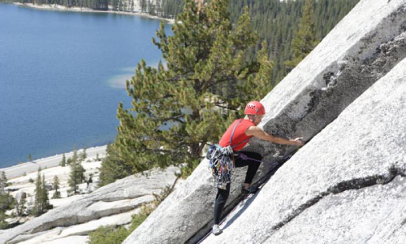 Climbing in Yosemite National Park
