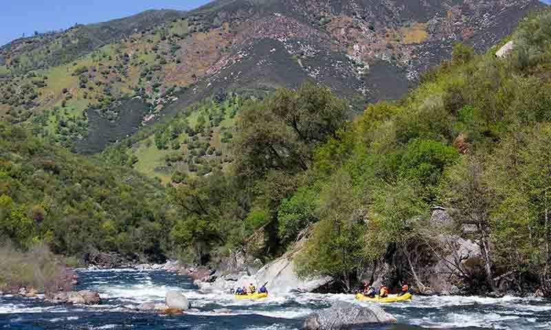 Whitewater Rafting near Yosemite National Park