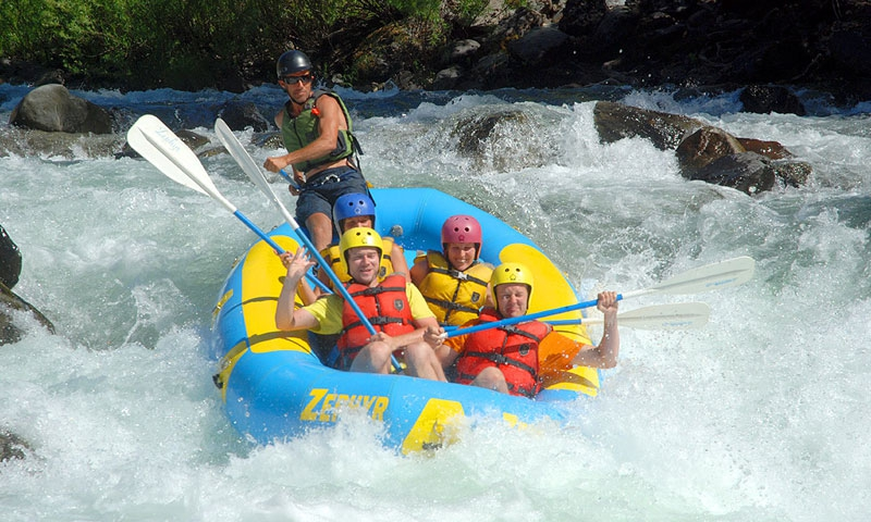 Whitewater Rafting on the Merced River