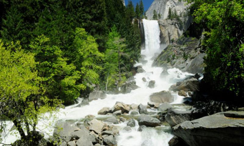 Vernal Falls in Yosemite National Park