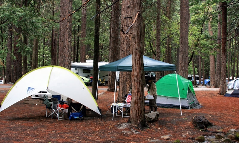 Upper Pines Campground Yosemite Camping Alltrips