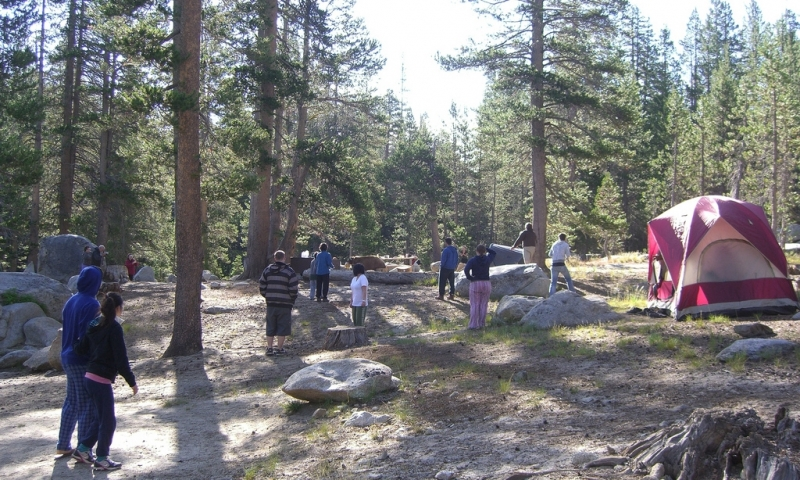 White wolf campground yosemite camping alltrips for Yosemite park camping cabins