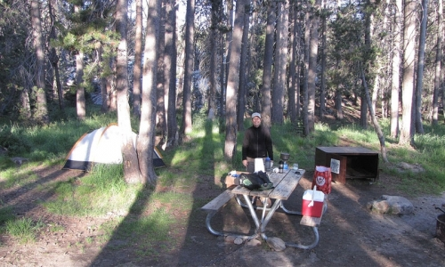 Yosemite Creek Trail Yosemite Creek Campground
