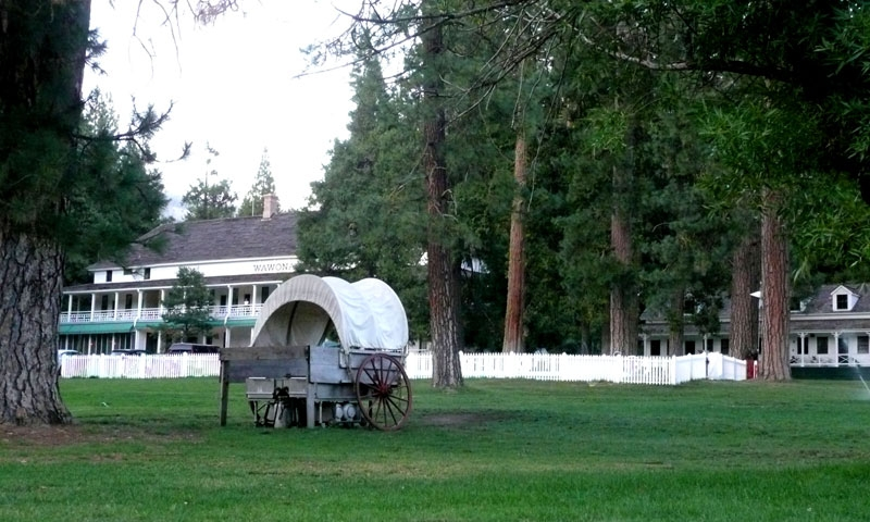 Wawona Hotel in Yosemite National Park