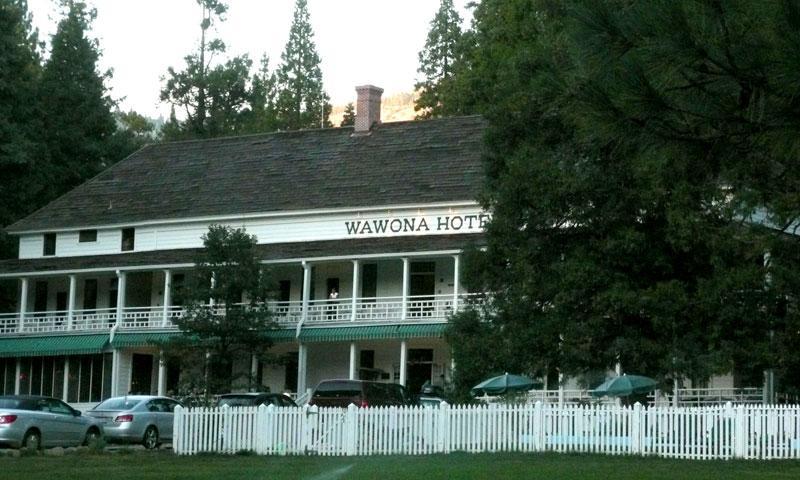 Wawona Hotel in Yosemite National Park